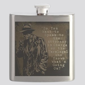 Paralegal In Charge [Det. Edition] Flask